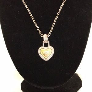 Jewelry - A Lock On Your Heart Necklace❤️